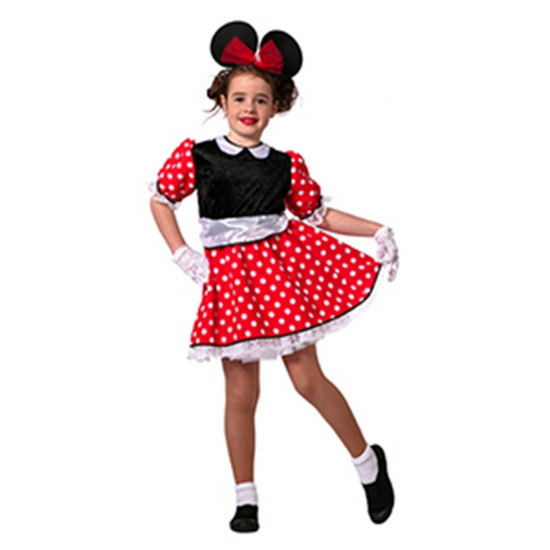 Minnie Mouse verkleed kleding kind