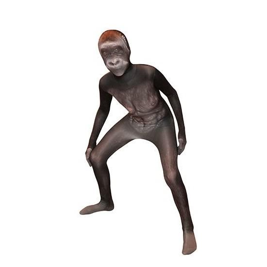 Morphsuit met gorilla print