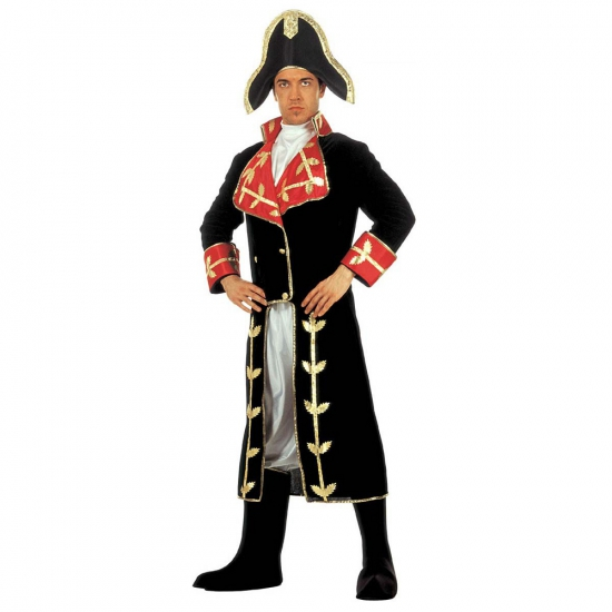 Napoleon verkleed kleding fluweel