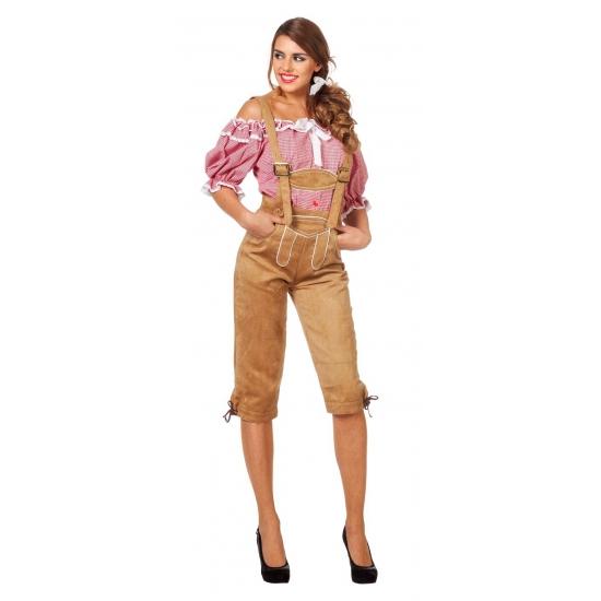 Oktoberfest dameskleding lederhose