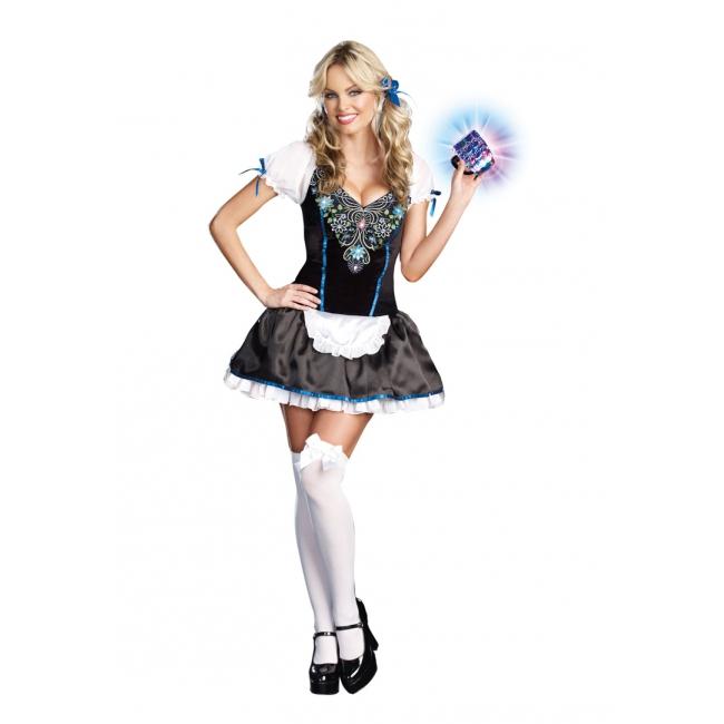 Oktoberfest Hottie Heidi jurkje zwart