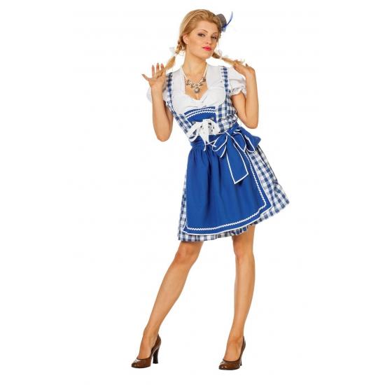 Oktoberfest jurkje blauw