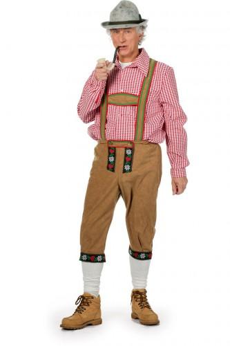 Oktoberfest Lange Tiroler broek voor heren