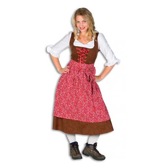 Oktoberfest Lange tiroler jurk