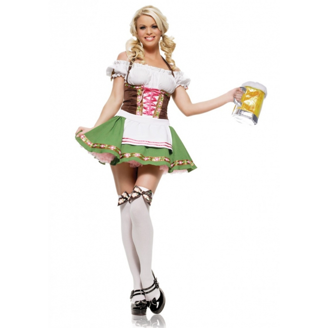 Oktoberfest Sexy Tirolerfeest verkleedjurkje