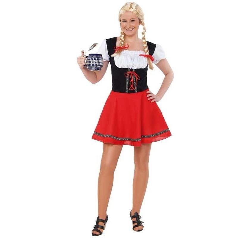 Oktoberfest Voordelig Tiroler jurkje voor dames