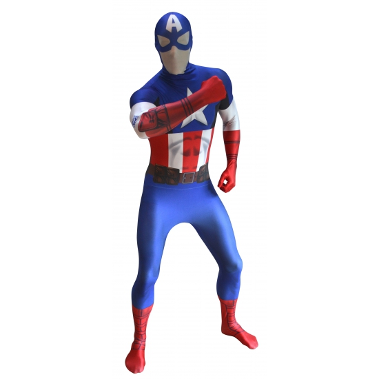 Originele morphsuit Captain America
