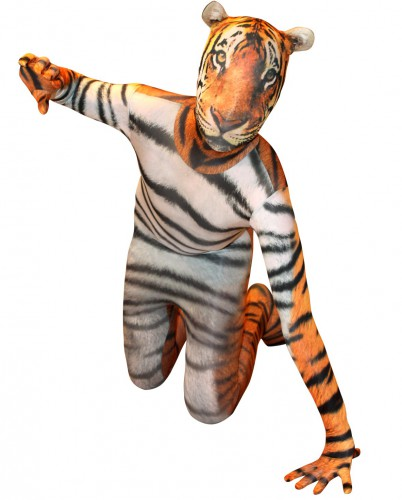 Originele morphsuit tijger