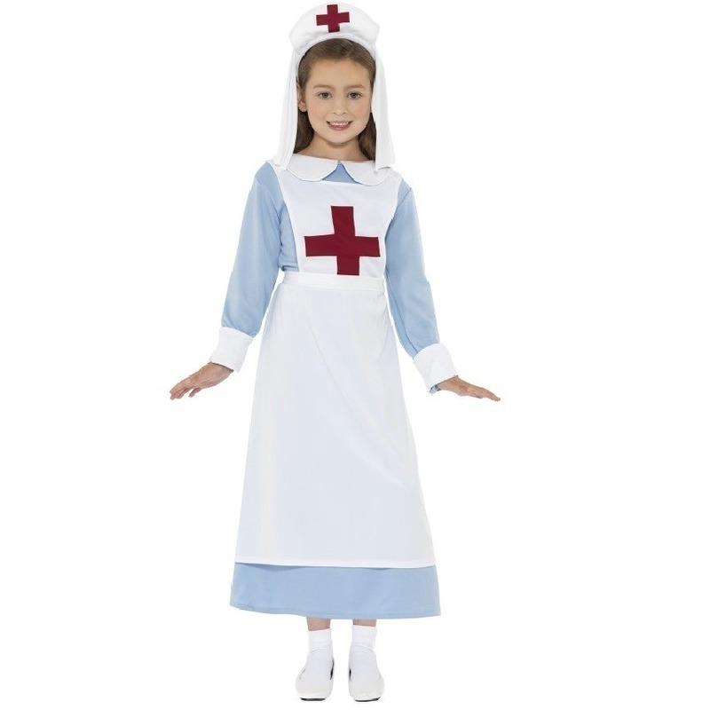 Ouderwets zuster kostuum voor kinder