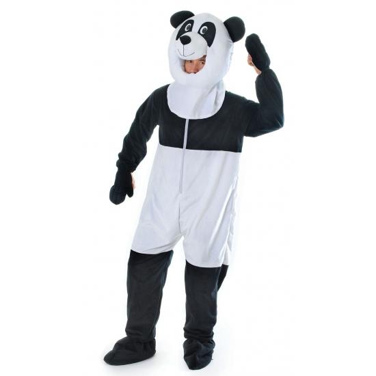 Panda jumpsuit voor volwassenen