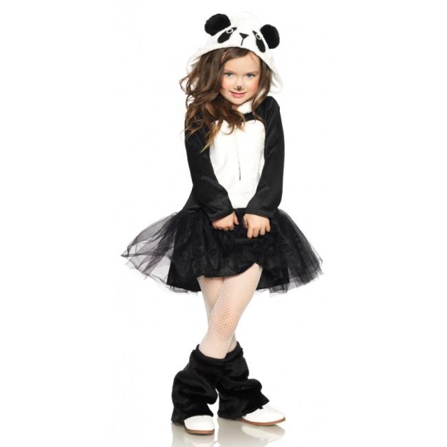 Pandabeer jurkje voor meisjes