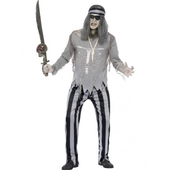Piraat geest kostuum voor heren
