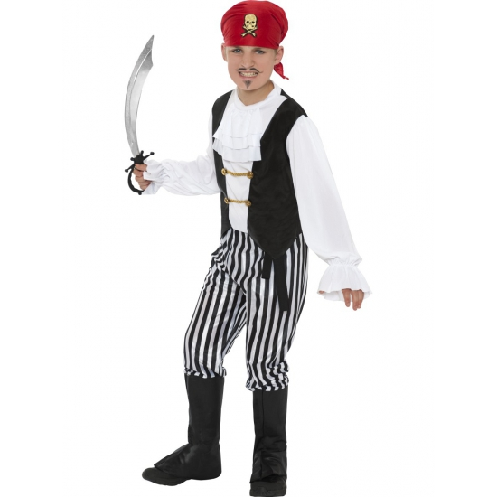 Piraten kostuum voor kinderen