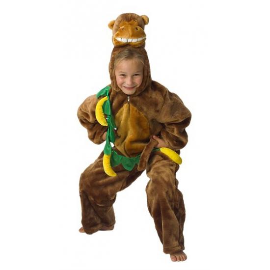 Pluche aap kostuum voor kinderen