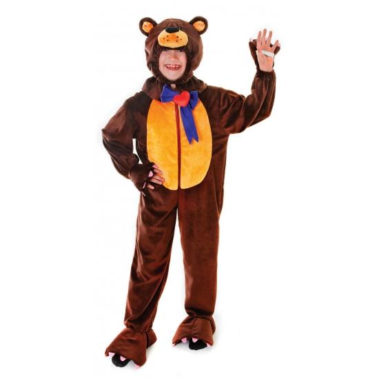 Pluche beren kostuum kinderen
