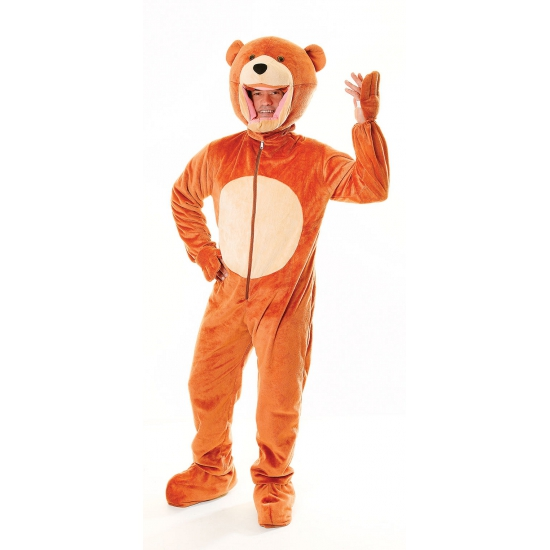 Pluche beren kostuum