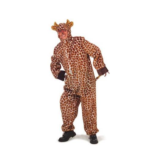 Pluche giraffe kostuums