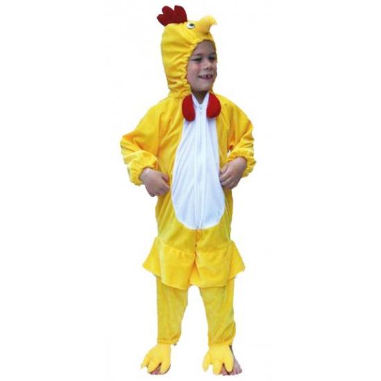 Pluche kip kids verkleedkleding
