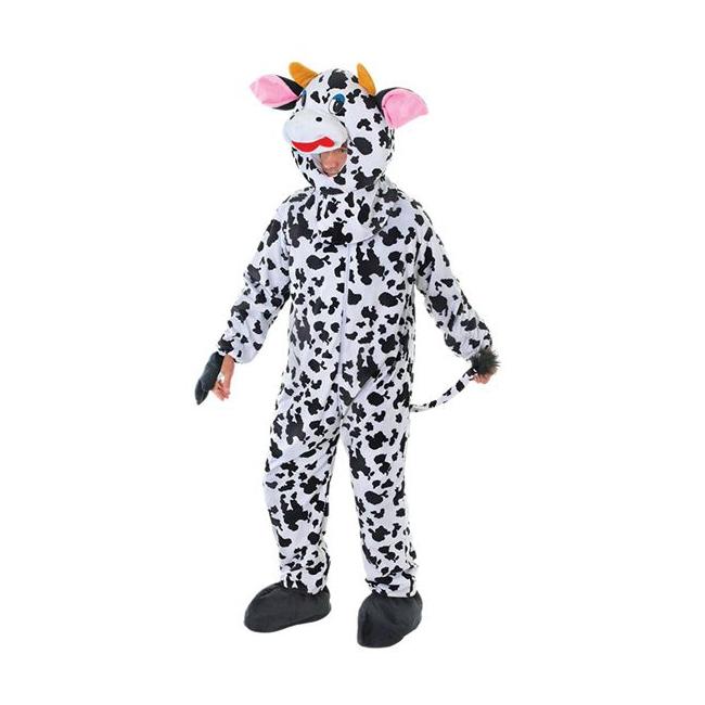 Pluche koeien outfit volwassenen