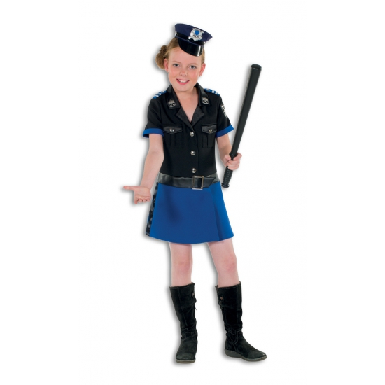 Politie agent jurkje voor meisjes