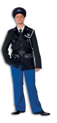 Politie kostuum polyester voor heren