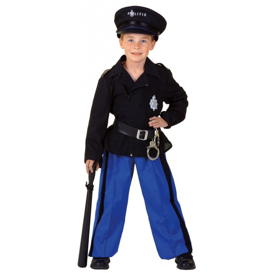 Politie uniform kind