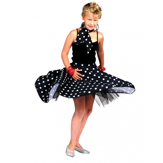 Polkadots rock n roll rok voor kids