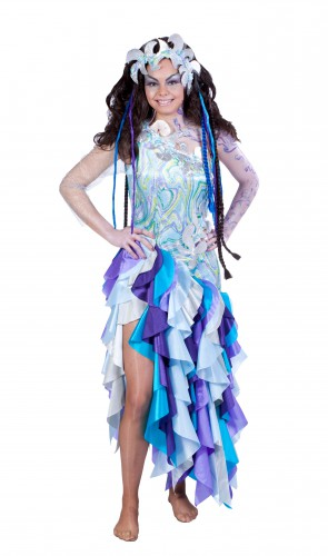 Prinses van de zee kostuum