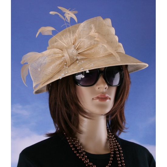 Prinsjesdag nette hoed beige Alexia