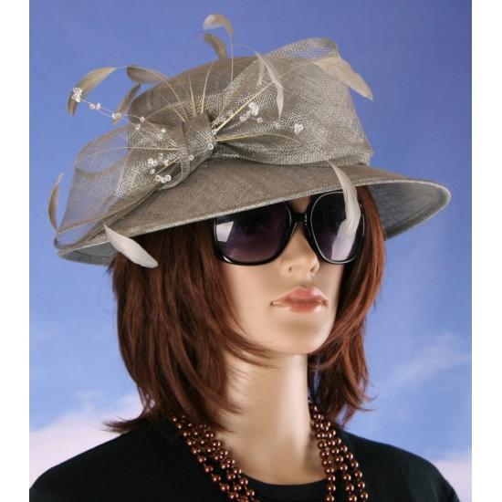 Prinsjesdag nette hoed grijs Alexia
