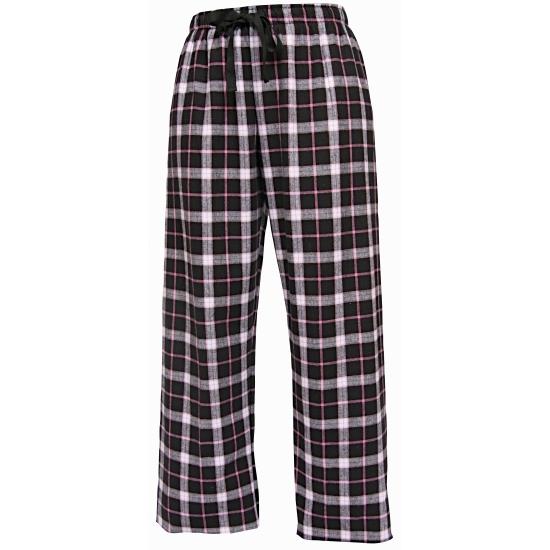 Pyjamabroek zwart/wit