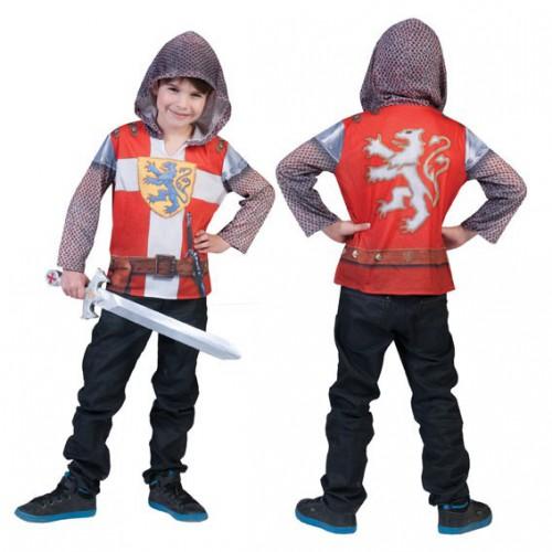 Ridder shirt met capuchon 3D ridder