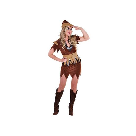 Robin Hood jurkje met bijpassend hoedje