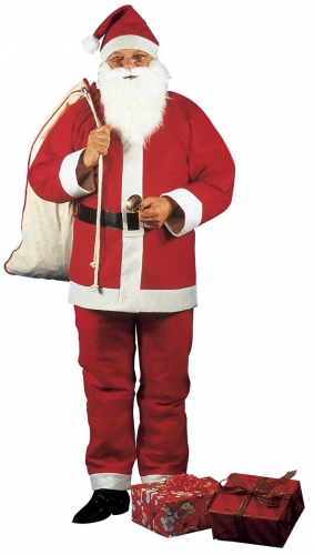Rode Kerstmannen outfit voor heren