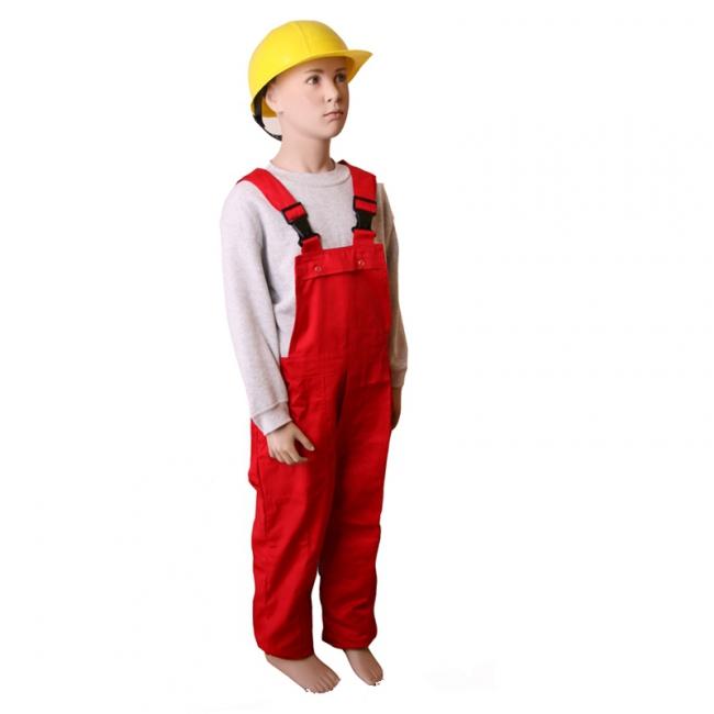 Rode tuinbroek voor kinderen