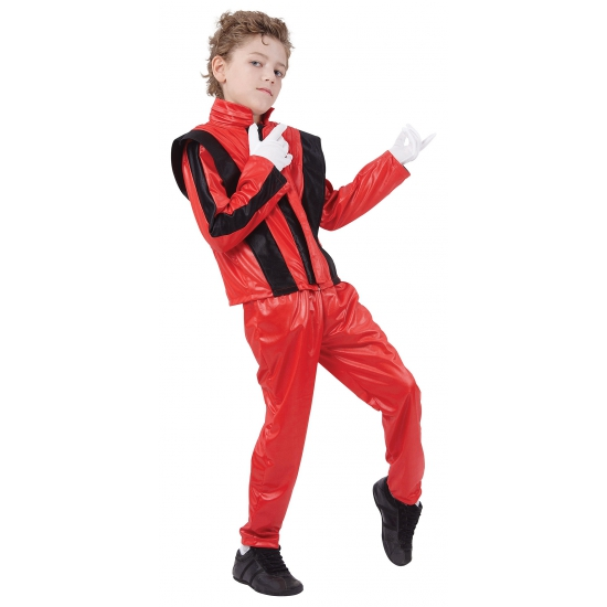Rood Michael carnavalspak kids