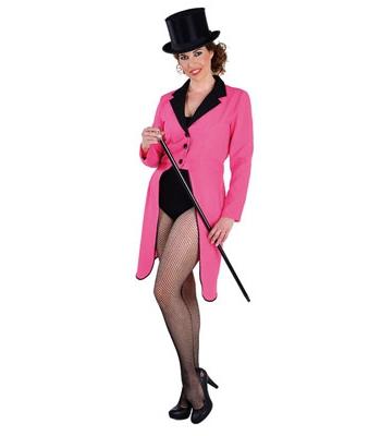 Roze circus jas voor dames