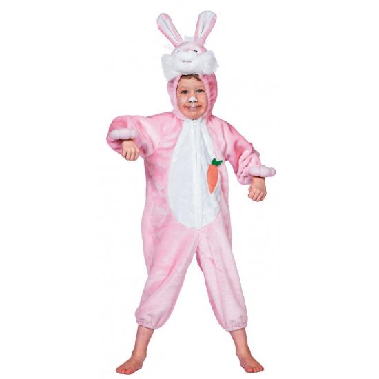 Roze konijnen outfit voor kinderen