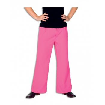 Roze lange broek voor heren