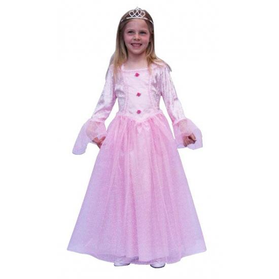 Roze prinses carnavalskostuum
