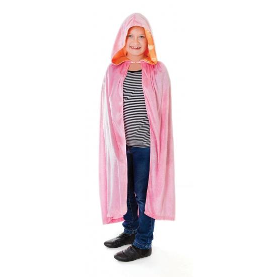 Roze prinsessenmantel voor meisjes
