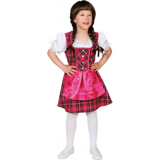 Roze Tirolerjurk voor meisjes