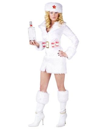 Russisch thema kostuum voor dames