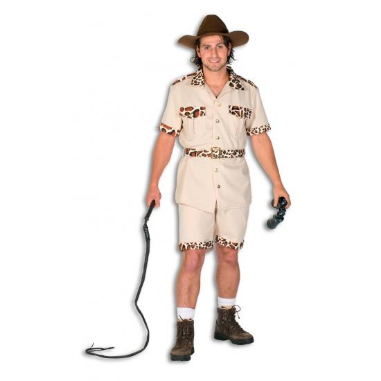 Safari broek met shirt voor heren