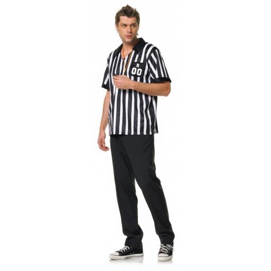 Scheidsrechter overhemd met fluitje