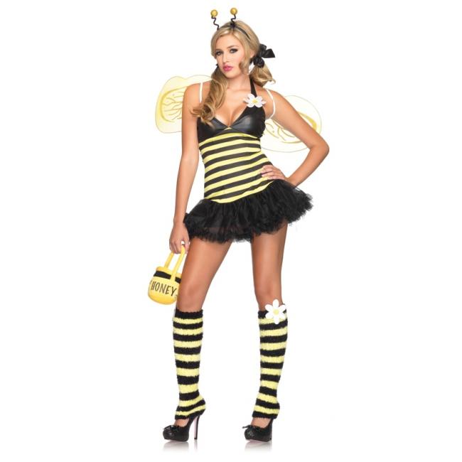 Sexy bijen kostuum voor dames