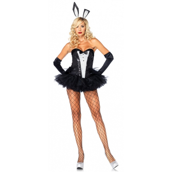 Sexy bunny outfit voor dames