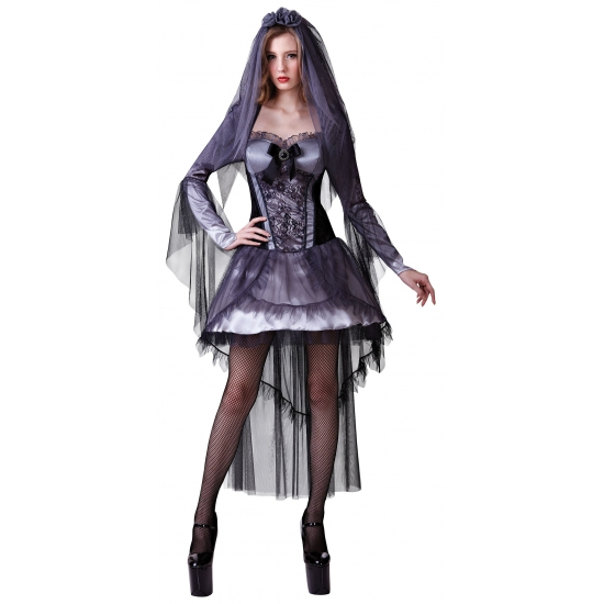 Sexy Halloween bruidsjurkje