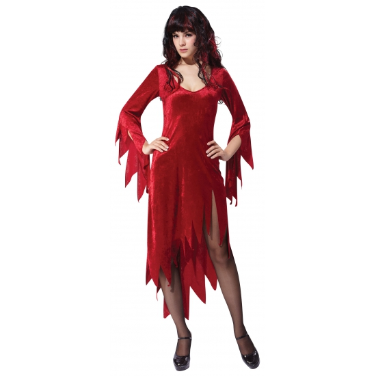 Sexy Halloween jurkje rood