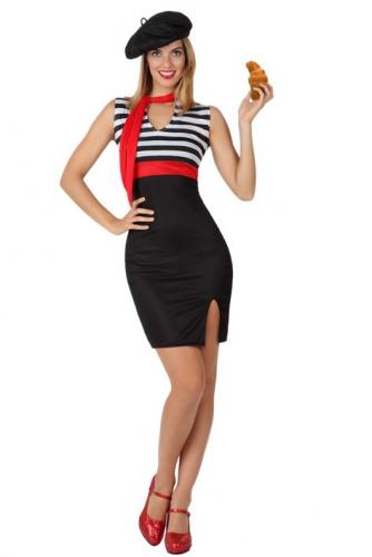 Sexy jurkje in Franse stijl